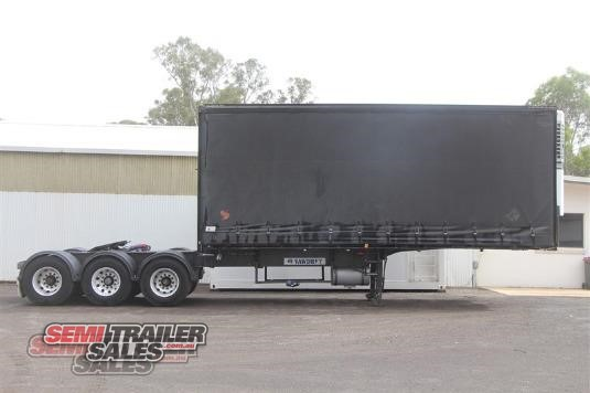 1998 Vawdrey 12 Pallet Curtainsider A Trailer Semi Trailer Sales - Trailers for Sale