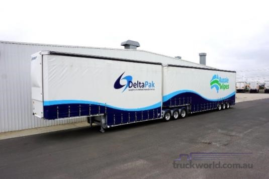 2016 Vawdrey B Double Tautliner / Curtainsider Trailers Trailers for Sale