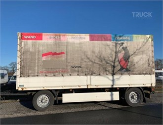 KRONE AZP 18 PRITSCHE PLANE  HU 03/19 NL 8000 KG