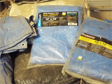 MISCELLANEOUS TARPS Auction Results - 1 Listings