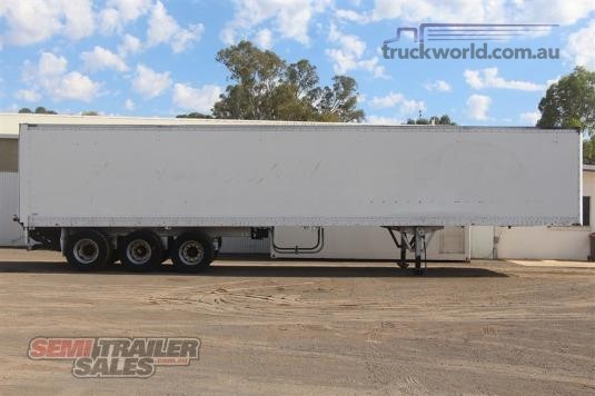 1996 Maxi Cube 45FT Pantech Semi Trailer with Tailgate Lift Trailers for Sale