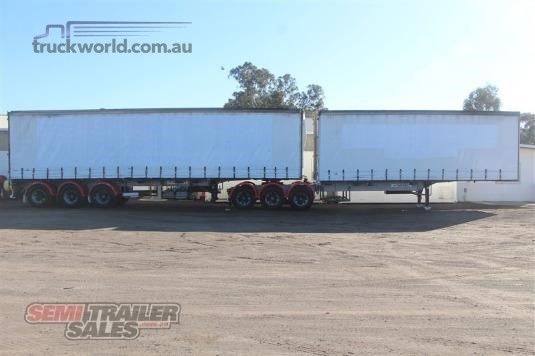 1997 Vawdrey 34 Pallet Curtainsider B Double Set - Trailers for Sale