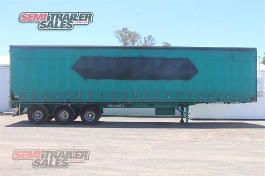 2005 Krueger 44FT 6 Inch Curtainsider Semi Trailer Semi Trailer Sales - Trailers for Sale