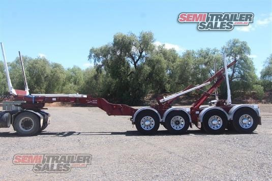 2008 Kennedy Folding Log Skel Semi Trailer Sales - Trailers for Sale