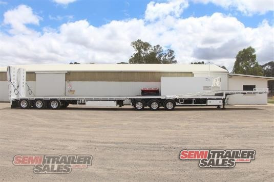 2007 Maxitrans Drop Deck With Loading Ramps Semi Trailer Sales - Trailers for Sale
