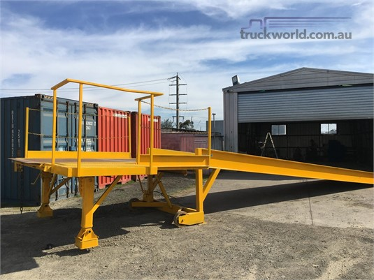 Tieman 12M Ramp All Star Equipment Sales  - Parts & Accessories for Sale