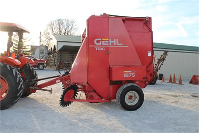 GEHL Round Balers Auction Results - 24 Listings | AuctionTime com