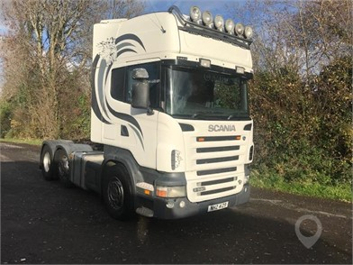 Used SCANIA R580 Trucks for sale in the United Kingdom - 14 Listings