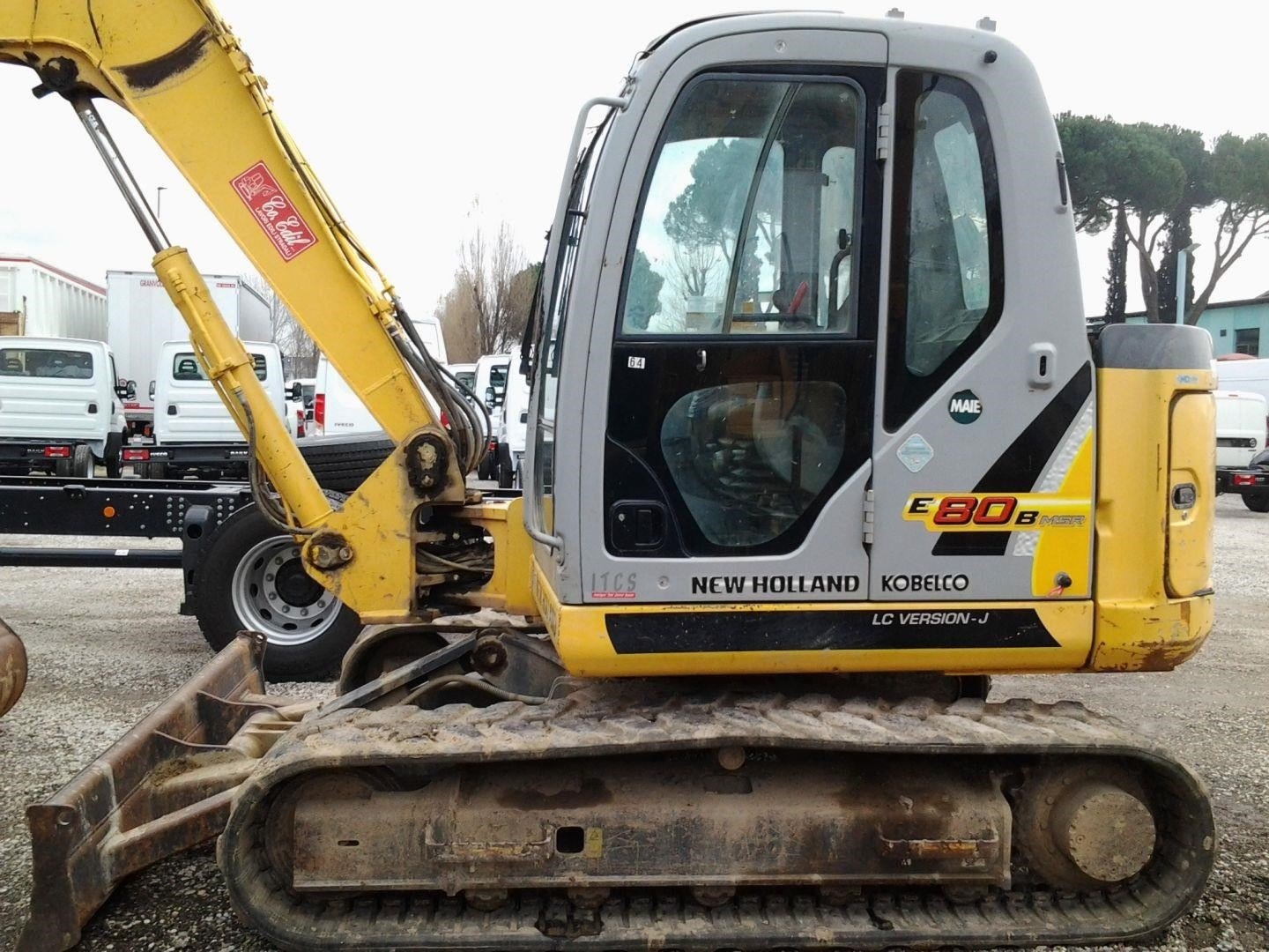 NEW|HOLLAND|KOBELCO E80BMSR-2
