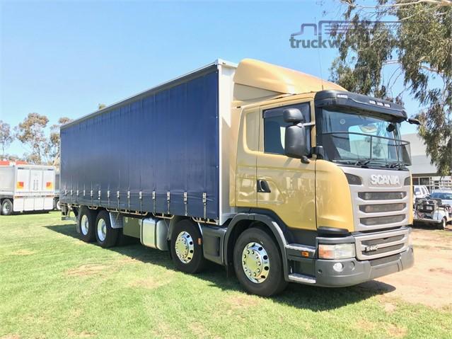 2015 Scania G440 Tautliner / Curtainsider truck for sale