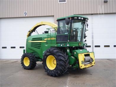 John Deere Self-Propelled Forage Harvesters For Sale - 546 Listings