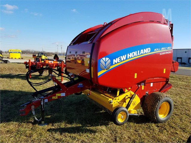 2018 NEW HOLLAND ROLL-BELT 460 For Sale In Richmond, Indiana