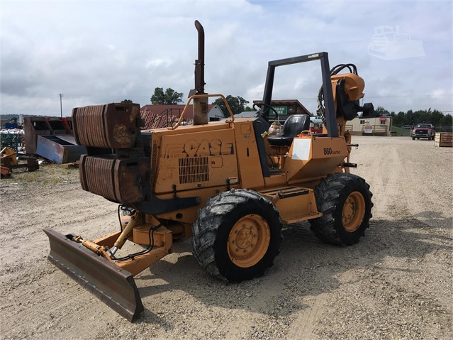 2004 CASE 860 TURBO For Sale In Brownsville, Wisconsin