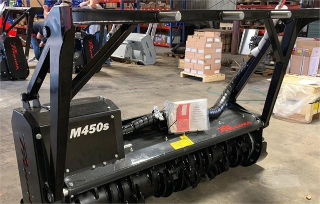 2019 PRINOTH M450S-1900 BCS Mulcher For Sale In CONROE, Texas
