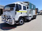 2014 Isuzu FTR 900 Long Premium AMT Service Vehicle