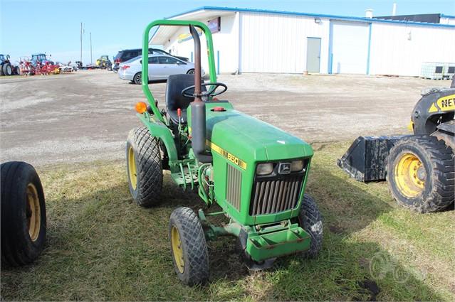 John Deere 650 >> 1985 John Deere 650 For Sale In Mechanicsburg Ohio Tractorhouse Com