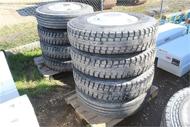PALLET OF (10) 11R22 5 TIRES & WHEELS Other Auction Results