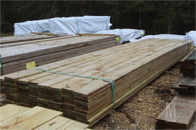 APPROX  (96) 5/4X6X16 DECKING BOARDS Other Auction Results