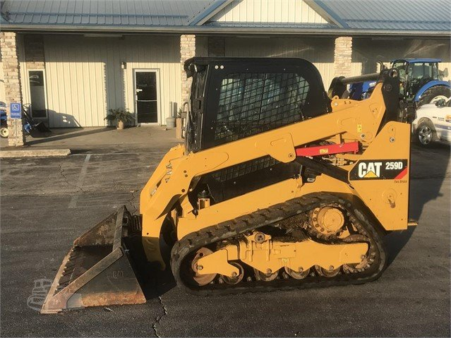 2016 CAT 259D For Sale In Rochester, Indiana