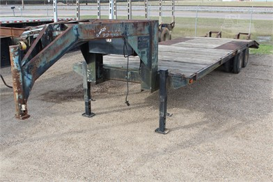 25' flatbed gooseneck trailer other auction results in louisiana - on