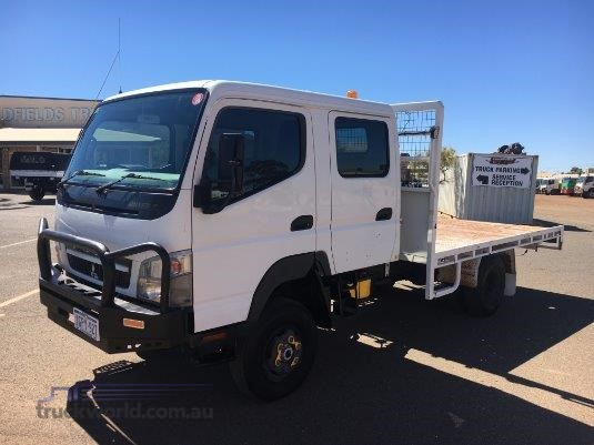 2010 Mitsubishi Canter 4x4 Crew 4x4 truck for sale Goldfields Truck