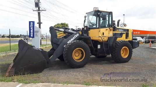 2010 Komatsu WA320PZ-6 - Heavy Machinery for Sale