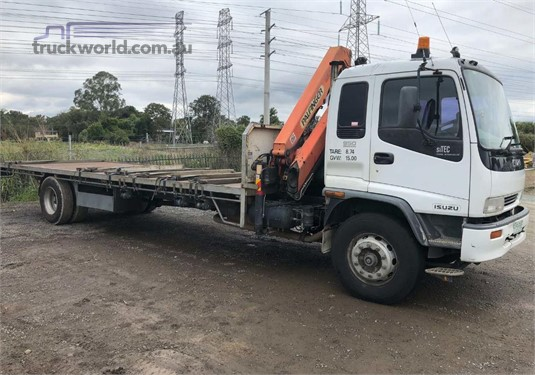 1999 Isuzu FVZ - Truckworld.com.au - Trucks for Sale