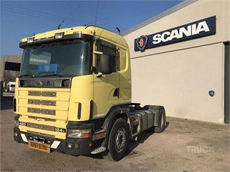 SCANIA R124L420