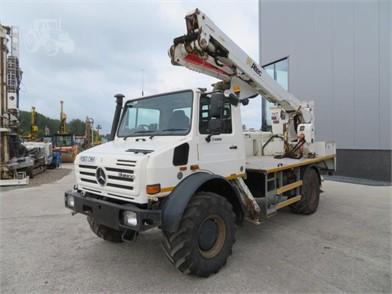MERCEDES-BENZ UNIMOG U400 For Sale - 5 Listings | TractorHouse com