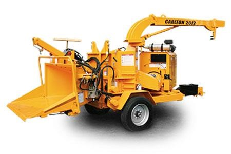 CARLTON 2012 Pull-Behind Wood Chippers Logging Equipment For