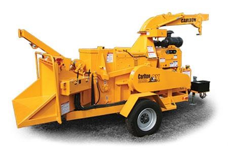 CARLTON 2518 Pull-Behind Wood Chippers Logging Equipment For