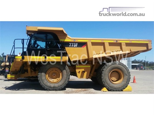 2008 Caterpillar 773F - Truckworld.com.au - Heavy Machinery for Sale