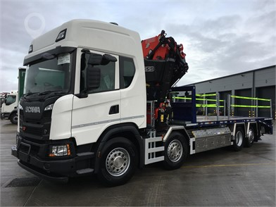 2021 SCANIA G450 at TruckLocator.ie
