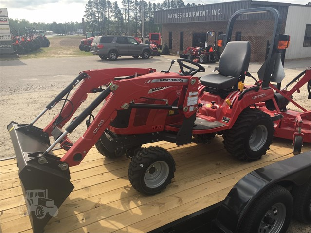 2018 MASSEY-FERGUSON GC1705 For Sale In Sims, North Carolina