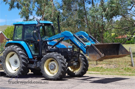 2010 New Holland TS110 Farm Machinery for Sale