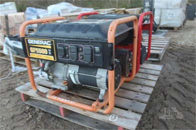 PALLET W/ (2) GAS GENERATORS-SKID MTD Other Auction Results