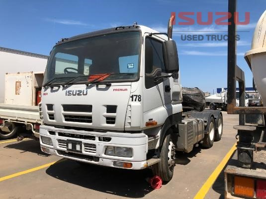 2009 Isuzu Giga CXY Used Isuzu Trucks - Trucks for Sale