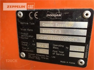 DOOSAN DX255 LC-3