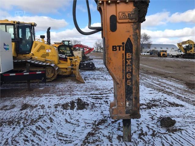 2018 BTI BXR65-HYDRAULIC BREAKER, 6,500 FT LB, INCLUDES TOO Hammer/Breaker  - Hydraulic For Sale In Sioux Falls, South Dakota