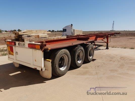1986 Freighter 40ft Skel Trailer - Truckworld.com.au - Trailers for Sale