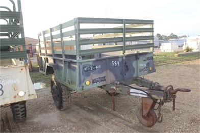 22bb4988bbec Model Tlrcg0m105a2 1 1/2 Ton Cargo Trailer Other Auction Results - 1 ...