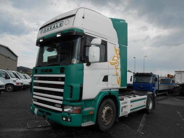 Scania R124 Usato