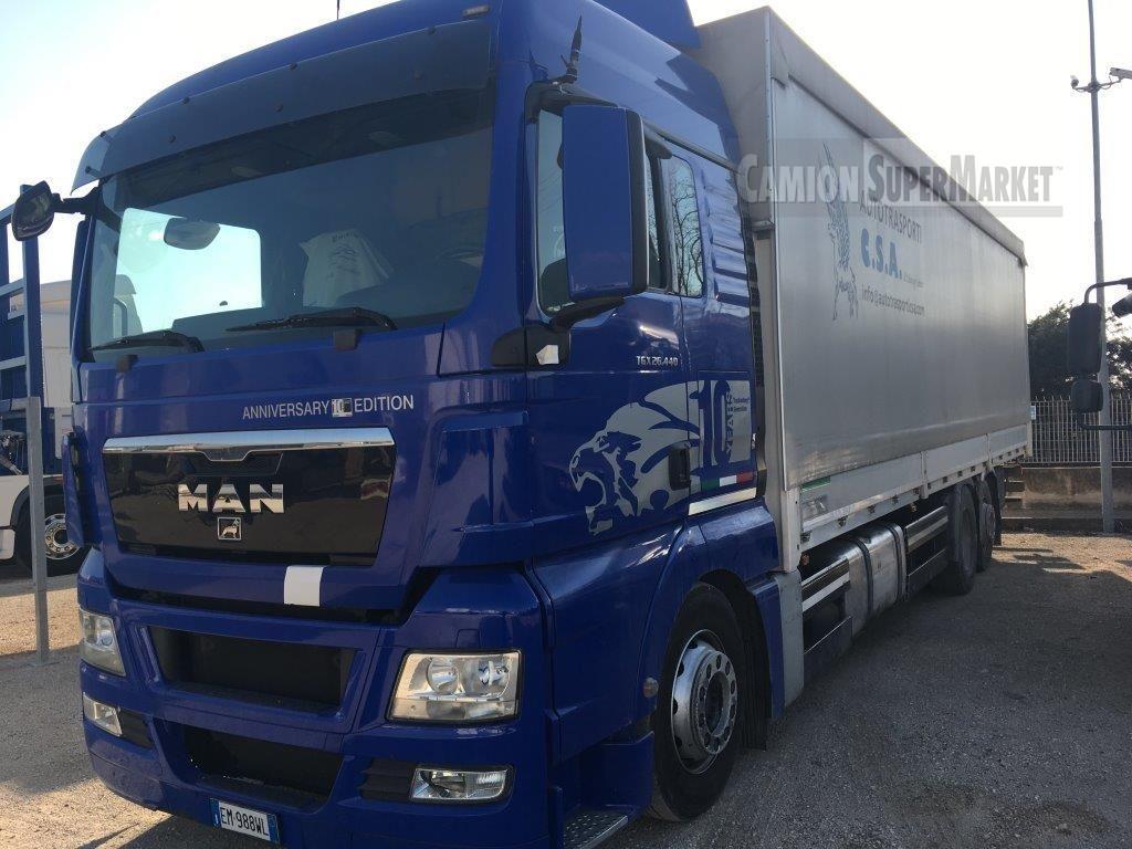 MAN TGX26.440 Usato 2012 Veneto