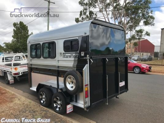 2016 Custom Horse Float Carroll Truck Sales Queensland - Trailers for Sale
