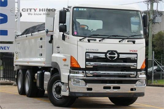 2018 Hino 700 Series City Hino - Trucks for Sale