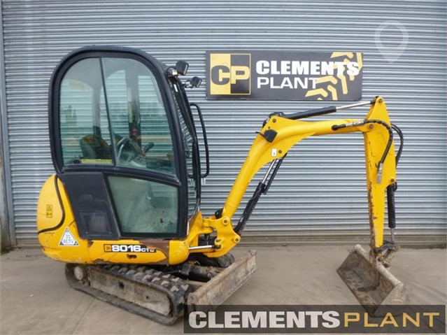 Used 2011 JCB 8016CTS For Sale In Kirton Lindsey, NORTH LINCOLNSHIRE