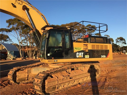 2012 Caterpillar 349E LME Excavators - Tracked heavy