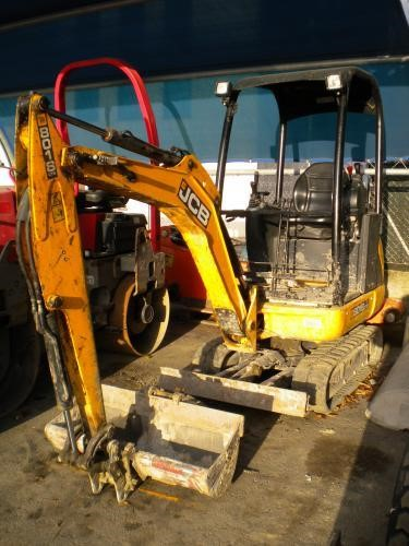 JCB 8018CTS Second-hand