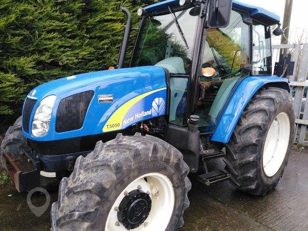 Used 2008 NEW HOLLAND T5050 For Sale in Meath, Ireland (ID: 30282687