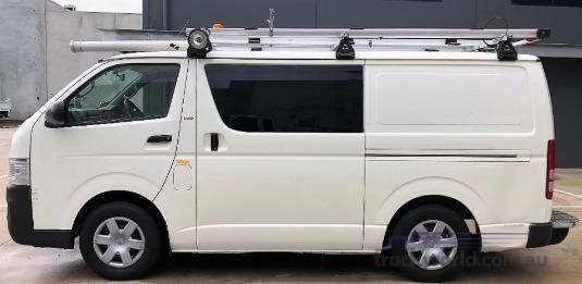 2010 Toyota Hiace Kdh201r My10 Lwb - Truckworld.com.au - Light Commercial for Sale